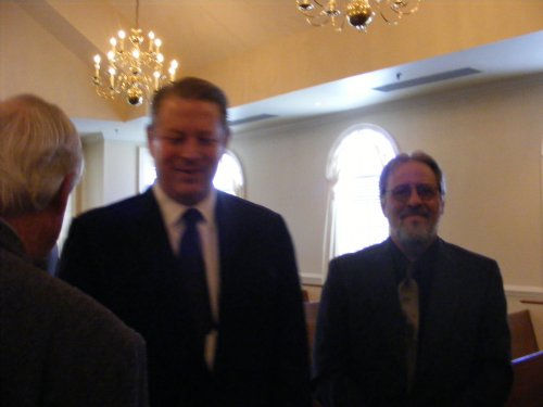 Mithcell with Judge Franklin Muchison and Vice President Al Gore